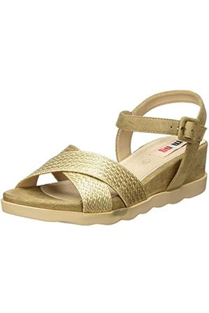 MTNG Collection Damen 58361 Plateausandalen, (Fabraid ORO/Join Arena C49471)