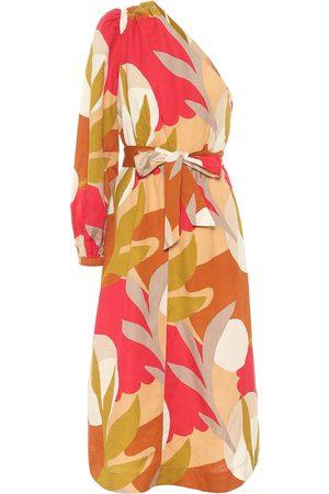 Rebecca Vallance One-Shoulder-Kleid Sangria