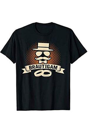 Junggesellen Abschied Shirt Herren Bräutigam Shirt mit Hut,Sonnenbrille