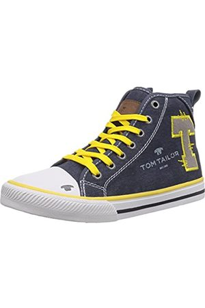 TOM TAILOR Kids Jungen Hohe Sneakers, (blue-yellow)