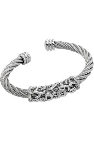 Burgmeister Damen-Armspange 925 Sterling Silber Zirkonia JBM3027-521