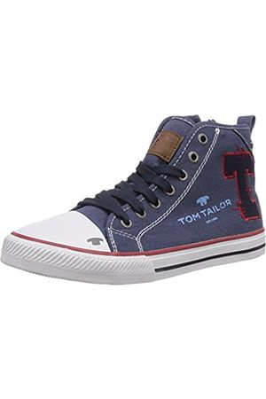 TOM TAILOR Kids Jungen Hohe Sneakers, (jeans-red)