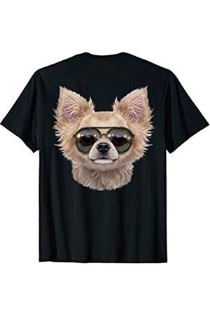 Fox Republic T-Shirts Chihuahua Hund Tragende Swag-Flieger-Sonnenbrille T-Shirt