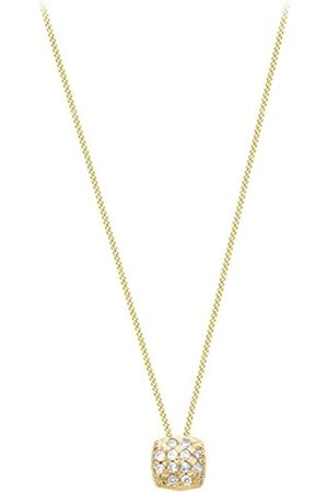 Carissima Gold Damen - Anhänger 9 k (375) Rundschliff Diamant 1.45.9334