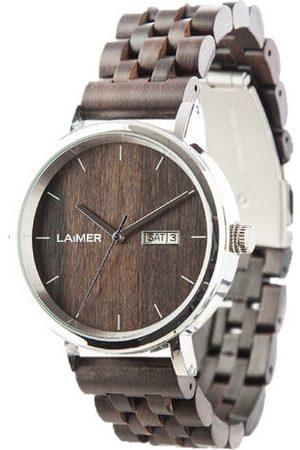 Laimer Herren Uhren - Armbanduhr Holzuhr Raúl