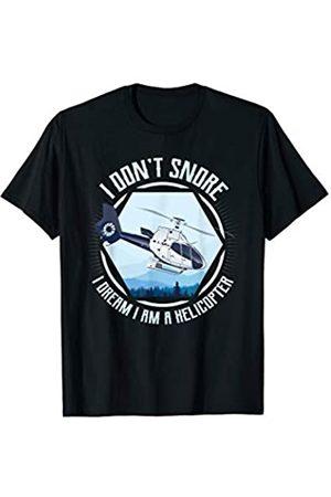 Helikopter Aviation Fly Bekleidung Helikopter Pilot Aviation Fliegen Hubschrauber Piloten T-Shirt