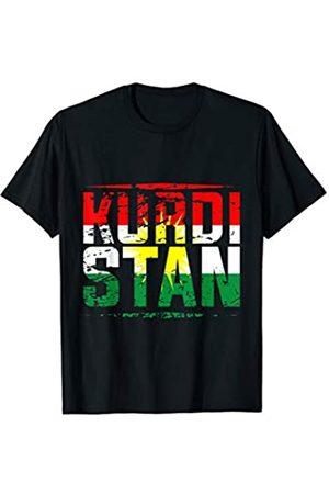 Kurdistan Syrien Türkei Lustiges Kurden Geschenk Kurdistan Flagge Rojava Kurdish Kurdische Lustiges Kurden T-Shirt