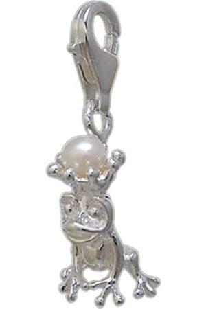 Melina Damen-Charm Anhänger Frosch mit Krone 925 Sterling 1800020