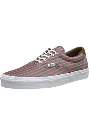 Vans U ERA 59 (STRIPES) PINK/ VUC6C4I Unisex-Erwachsene Sneaker, Pink ((Stripes) pink/)