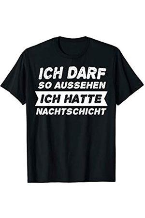 Schichtarbeit Krankenschwester Arzthelferin Spruch Nachtschicht Nacht Schicht Arbeitskollegen Geschenk T-Shirt