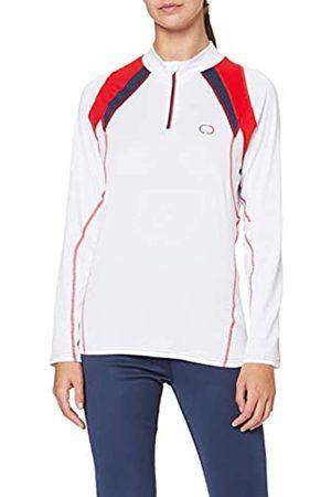 Damart Damen Tee-Shirt Col Montant/zipé EB4 ESF thermolactyl Thermounterwäsche - Oberteil