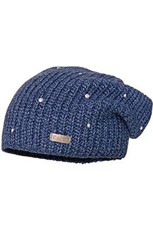 CAPO Damen Pearls Cap Strickmütze
