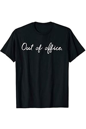 Travel Blogger & Vacation Apparel Cute Out of Office Vacation & Travel Bloggers T-Shirt