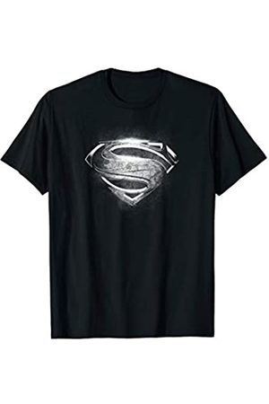 DC Superman Man of Steel Contrast Symbol T Shirt