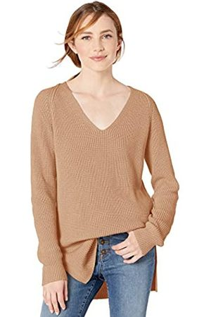 Goodthreads Cotton Half Stitch Deep V-Neck Sweater cardigan-sweaters