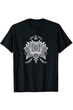 Wüste Schick Bekleidung Lotus Blume Wiedergeburt Aufklärung Yoga Yogi T-Shirt