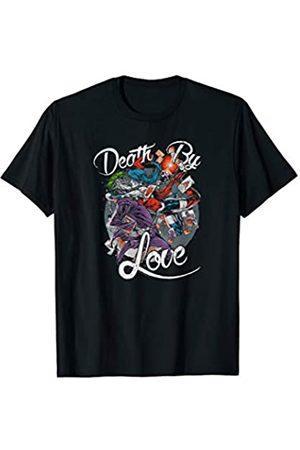 DC Harley Quinn Joker Death By Love T Shirt