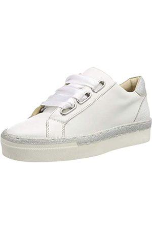 Marc Damen Verena Sneaker, (Cow Nappa-Glitter White 00752)