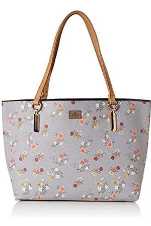 Bessie London Damen Large Floral Print Bag Shopper Schultertasche