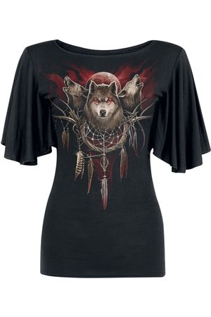 Spiral Damen T-Shirts, Polos & Longsleeves - Cry Of The Wolf T-Shirt
