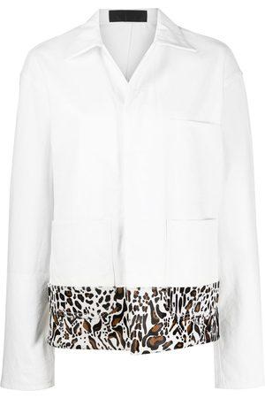 Haider Ackermann Damen Mäntel - Oversized-Mantel mit Leopardenmuster