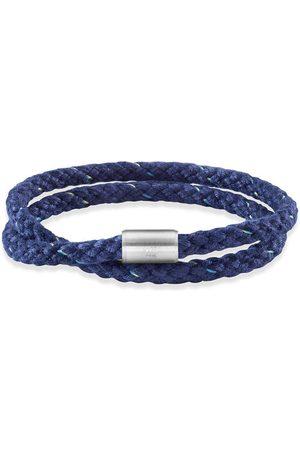 CAÏ Armband Edelstahl Textil 23cm Magnetverschluß,