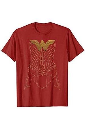 DC Wonder Woman Movie Armor Outline T Shirt