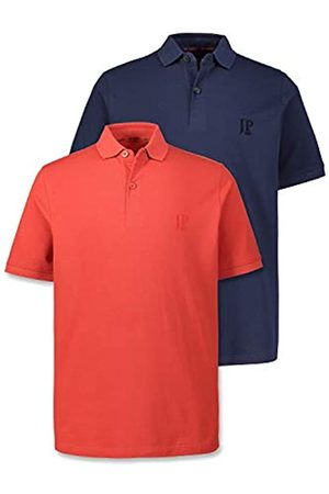 JP 1880 Herren große Größen bis 7XL, Poloshirts, 2er-Pack, Piqué, Seitenschlitze, Regular Fit