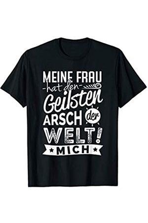 Liebe & Familie Klamotten Herren Meine Frau hat den geilsten Arsch der Welt Geschenk T-Shirt