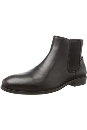 Jack & Jones Herren JFWFRANK Leather Chelsea Boots, (Anthracite)