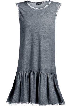DreiMaster Vintage Leinenkleid