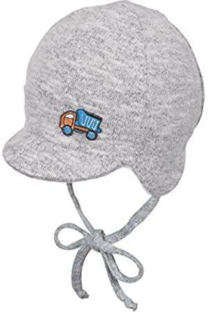 Sterntaler Schirmmütze für Jungen mit Bindebändern, Alter: ab 6-9 Monate, Größe: 45