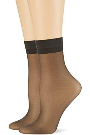 Palmers Damen Samtweiches Söckchen Skin 20 Doppelpack Socken, 20 DEN