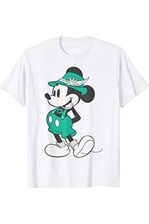 Disney Mickey Mouse Vintage Lederhosen Portrait T-Shirt