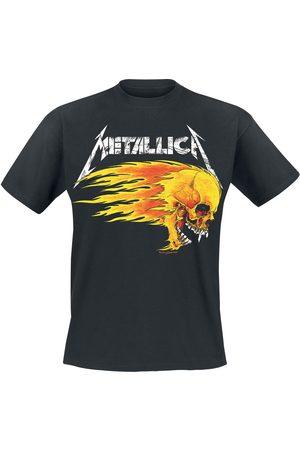 Metallica Herren T-Shirts - Flaming Skull Tour Tee T-Shirt