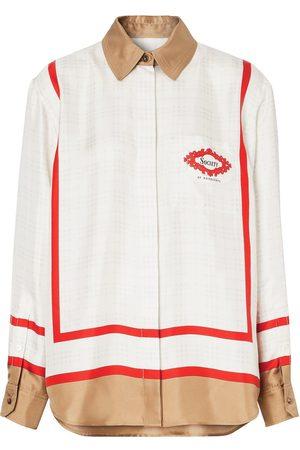 Burberry Damen Blusen - Hemd mit Print