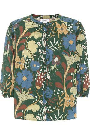 Velvet Bluse Affie aus Baumwolle