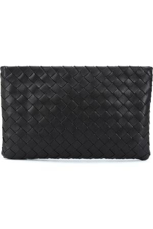 Bottega Veneta Clutch Medium aus Intrecciato-Leder