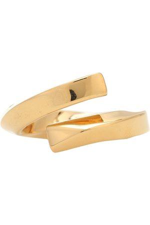 Bottega Veneta Damen Ringe - Vergoldeter Ring aus Sterlingsilber