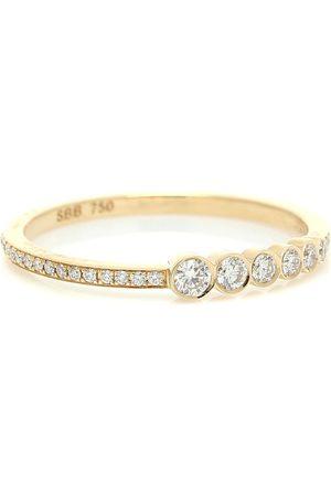 SOPHIE BILLE BRAHE Ring Pleine de Pavé aus 18kt Gelbgold mit Diamanten