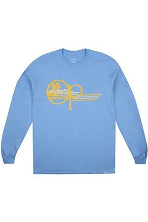 Ocean Pacific Herren Palm Lines Long Sleeve Top T-Shirt