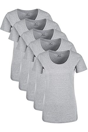 Berydale Für für Sport & Freizeit, Rundhalsausschnitt T-Shirt, Melange), Medium (Herstellergröße: M)