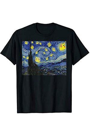 FandomizedRose Schreiender Papageien Nymphensittich Sternenklare Nacht T-Shirt