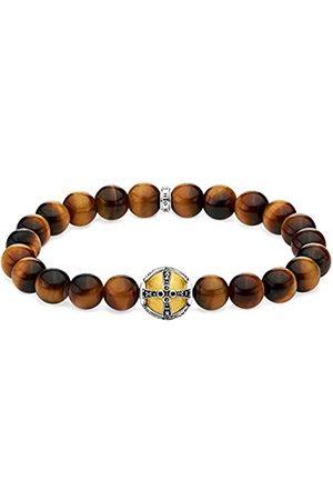 Thomas Sabo Unisex-Armband Kreuz gold 925 Sterlingsilber gelbgold vergoldet A1929-849-2-L18