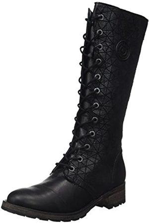 Pataugas Damen Dolce Kurzschaft Stiefel, Noir (Noir)