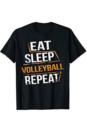 Erstaunliche Volleyball-T-Stücke Eat Sleep Volleyball Repeat for Volleyball players & Trainee T-Shirt