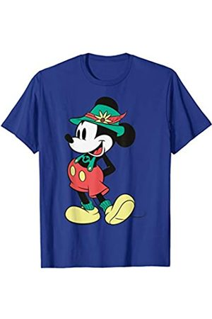 Disney Mickey Mouse Happy Lederhosen Portrait T-Shirt