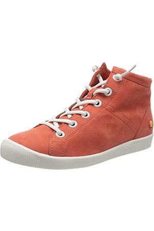 softinos Damen ISLEEN2586SOF Hohe Sneaker, (Devil Red 001)