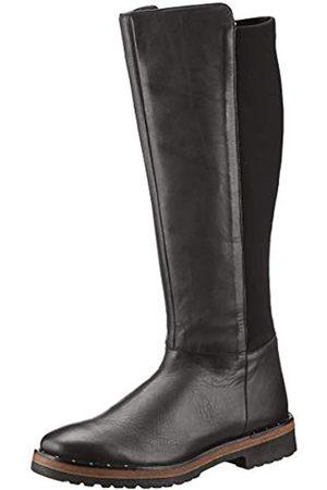 Marc Damen Macarena Hohe Stiefel, (Cow Crust-Stretch Black 00408)