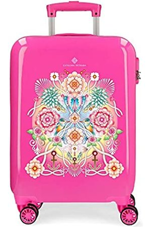 Catalina Estrada Abanico Koffer 55 Centimeters 34 Pink